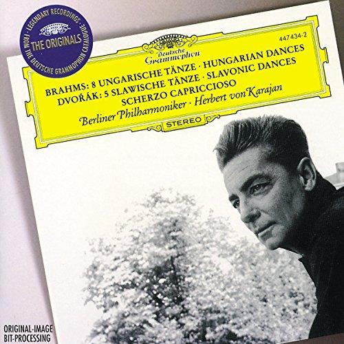 Brahms/Dvorak/Hungarian Dances (8)/Slavonic@Karajan/Berlin Phil