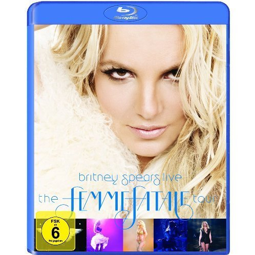 Britney Spears Britney Spears Live The Femme Blu Ray
