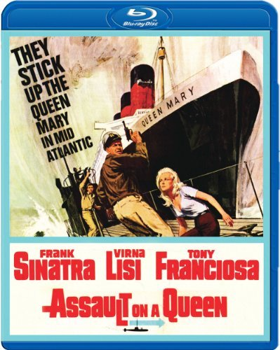 Assault On A Queen (1966) Sinatra Lisi Francios Conte Blu Ray Ws Nr