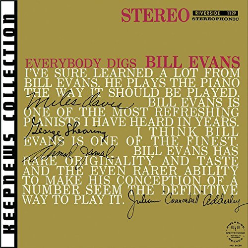 Bill Evans Everybody Digs Bill Evans Remastered Incl. Bonus Track