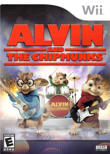Wii Alvin & The Chipmunks Game Whv Games E