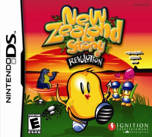 Nintendo Ds New Zealand Story Revolution