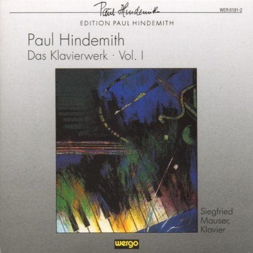 Paul Hindemith Vol. 1 Oeuvres Pour Clavier
