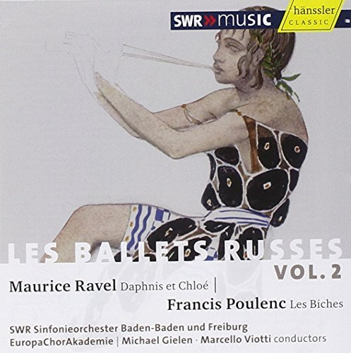 Ravel Poulenc Les Ballets Russe Vol. 2 So Of Baden Baden & Freiburg