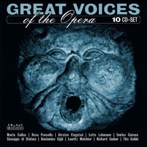 Great Voices Of Opera Great Voices Of Opera Import Eu 10 CD Set