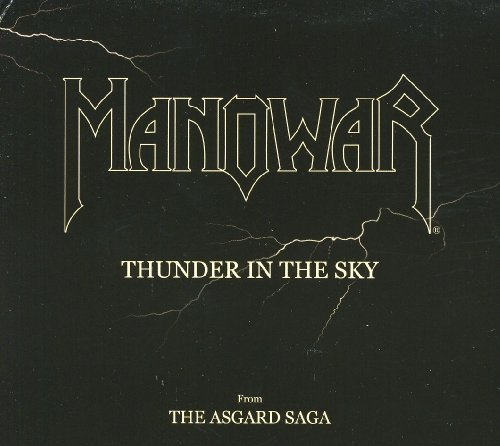 Manowar Thunder In The Sky Import Eu 2 CD Set