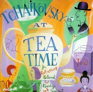 Pyotr Ilyich Tchaikovsky Tchaikovsky At Tea Time