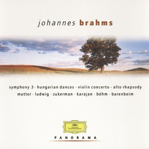 J. Brahms Sym 3 Con Vn Hungarian Dances Mutter Zuckerman Barenboim & Various