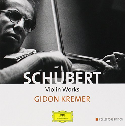 F. Schubert Complete Violin Works Octet Kremer*gidon (vn) 4 CD