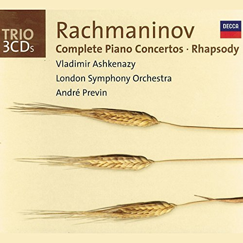 Ashkenazy Previn London Sympho Piano Concertos Rhapsody Ashkenazy*vladimir (pno) Previn London So