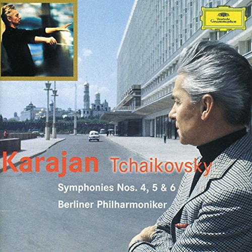 Karajan Berlin Philharmonic Or Symphonies 4 5 6 2 CD Set Karajan Berlin Po