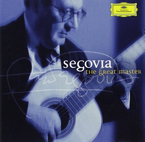 Andres Segovia Great Master Segovia (gtr) 2 CD