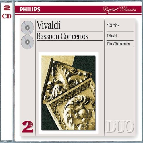 Thunemann I Musici Vivaldi Bassoon Cons Import Eu