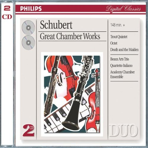 F. Schubert Great Chamber Works Import Gbr