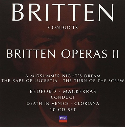 B. Britten Britten Conducts Britten Oper 10 CD