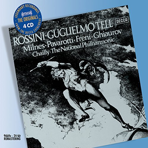G. Rossini William Tell 4 CD Set Chailly Natl Po