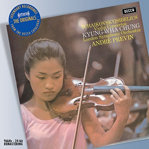 Sibelius Tchaikovsky Cons Vn Chung*kyung Wha (vn) Previn London So
