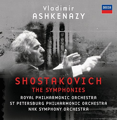 D. Shostakovich Symphonies 12 CD Set Ashkenazy Royal Po