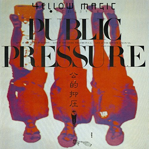Yellow Magic Orchestra Public Pressure Live Import Jpn