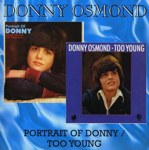Osmond Donny Portrait Of Donny Too Young Import Gbr 2 Lp On 1 CD