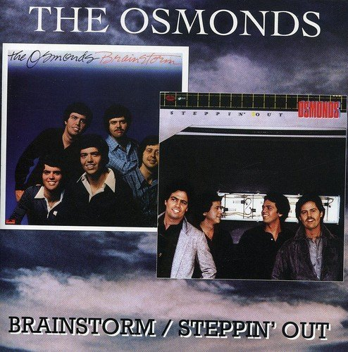 Osmonds Brainstorm Steppin' Out Import Gbr