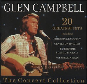 Glen Campbell 20 Greatest Hits Import Gbr