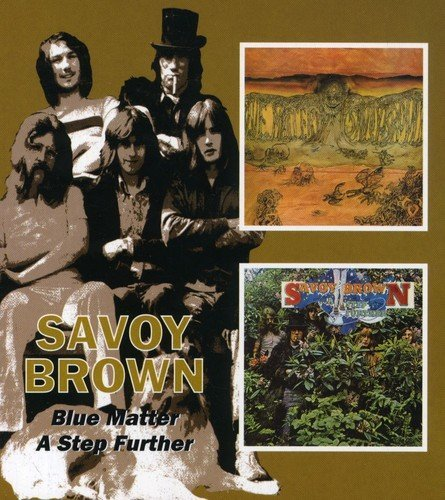 Savoy Brown Blue Matter A Step Further Import Gbr Remastered 2 CD