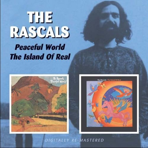 Rascals Peaceful World Island Of Real Import Gbr Remastered 2 CD