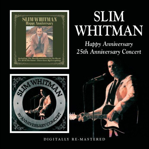Slim Whitman Happy Anniversary 25th Anniver Import Gbr 2 On 1