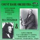 Count Basie Live At Tilburg Holland Import Gbr Feat. Ella Fitzgerald