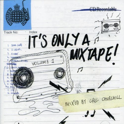 Ministry Of Sound It's Only A Mixtape Import Eu