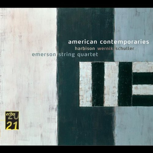 Harrison Wernick Schuller American Contemporaries Emerson Str Qt