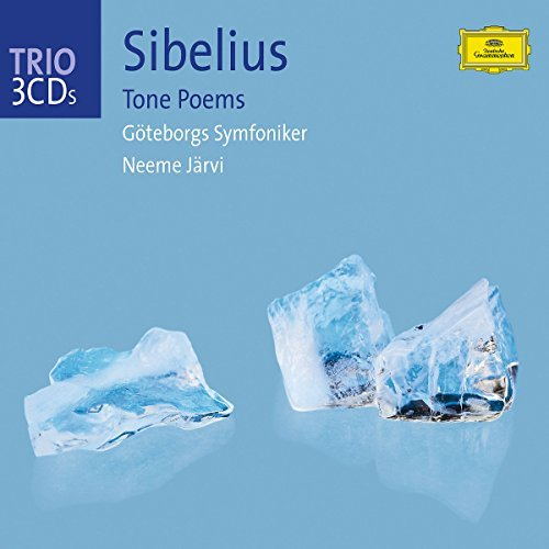 J. Sibelius Tone Poems 3 CD Jarvi Gothenburg So