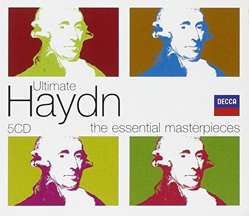 J. Haydn Ultimate Haydn (5cd Box Set) 5 CD Slipcase