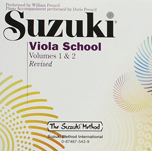 William Preucil Suzuki Viola School Vols. 1 & 2 (suzuki Method)