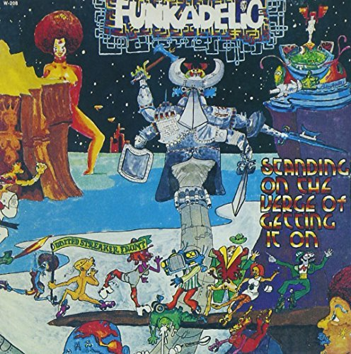 Funkadelic Standing On The Verge Of Getti Import Gbr Remastered Incl. Bonus Tracks Sleeve Note