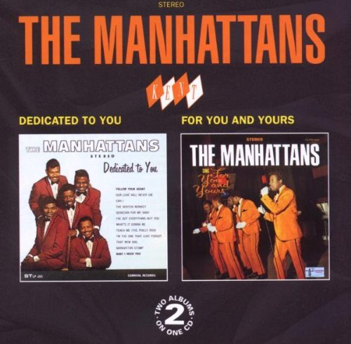 Manhattans Dedicated To You For You & You Import Gbr 2 On 1