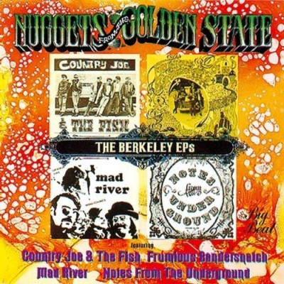 Berkeley Ep's Berkeley Ep's Import Gbr Country Joe & Fish Mad River