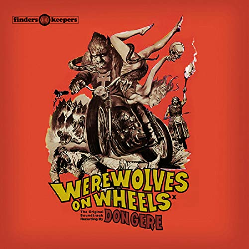 Werewolves On Wheels Soundtrack Import Gbr Lp