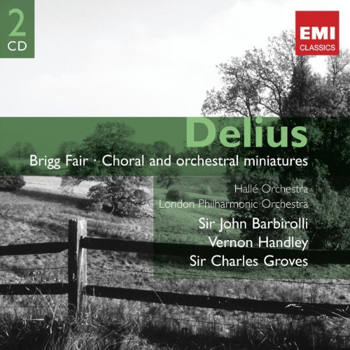 Sir Charles Groves Delius Choral Orchestral Wks 2 CD