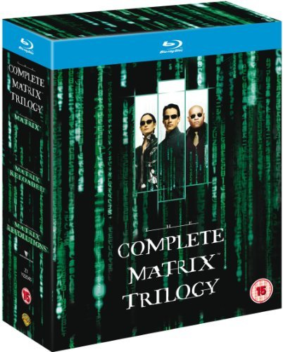 Complete Matrix Trilogy (1999) Matrix Import Gbr 3 Blu Ray