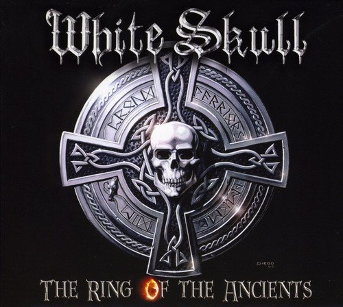White Skull Ring Of The Ancients Import Gbr