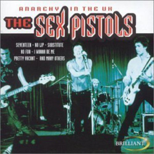 Sex Pistols Anarchy In The Uk Import Eu
