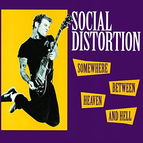 Social Distortion Somewhere Between Heaven & Hel Import Eu Somewhere Between Heaven & Hel