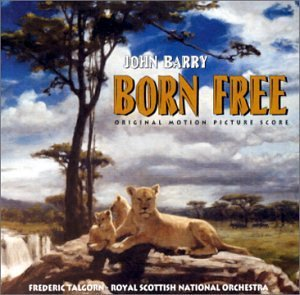 Born Free Score Music By John Barry
