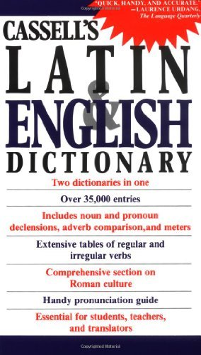 D. P. Simpson Cassell's Concise Latin And English Dictionary