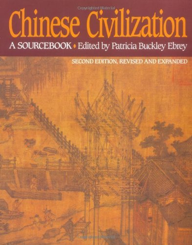 Patricia Buckley Ebrey Chinese Civilization A Sourcebook 2nd Ed 0002 Edition;revised And Exp