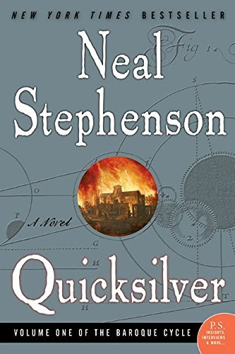 Neal Stephenson Quicksilver Volume One Of The Baroque Cycle