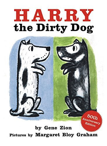 Gene Zion Harry The Dirty Dog Board Book 0050 Edition;anniversary