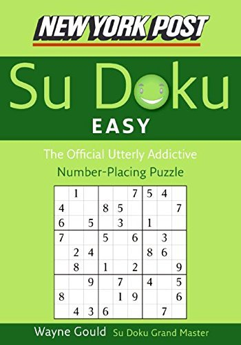 Wayne Gould New York Post Easy Su Doku The Official Utterly Addictive Number Placing Puz